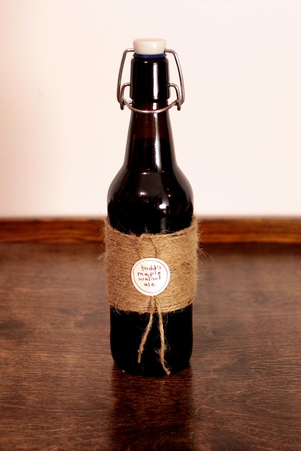 Jute-Wrapped Bottle