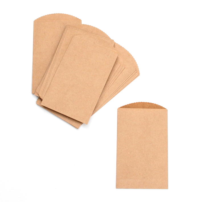 Mini kraft envelopes