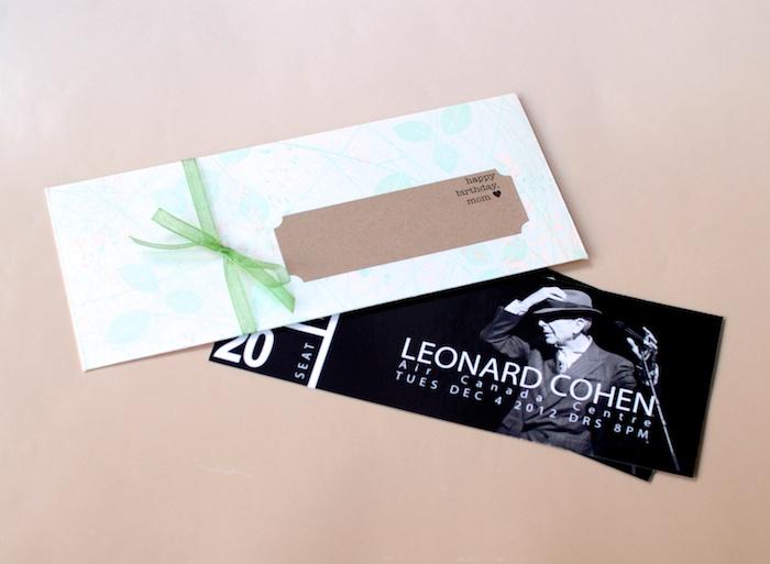 Leonard Cohen concert tickets