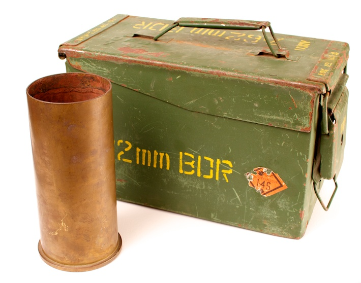 76mm Shell and ammo box