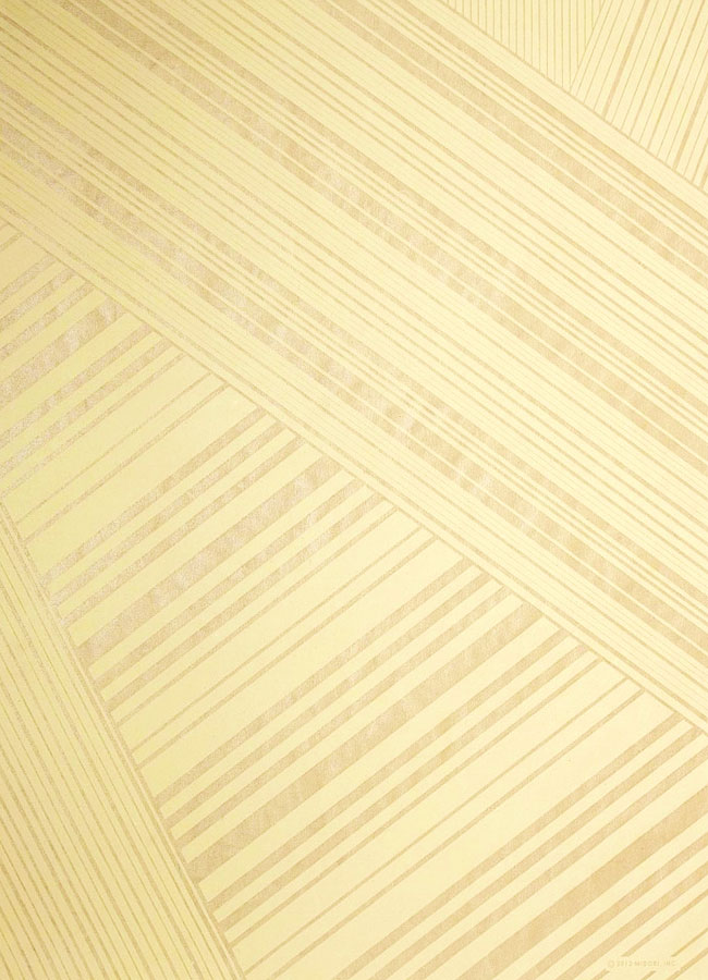 gold bandeau striped wrapping paper from luxe paperie