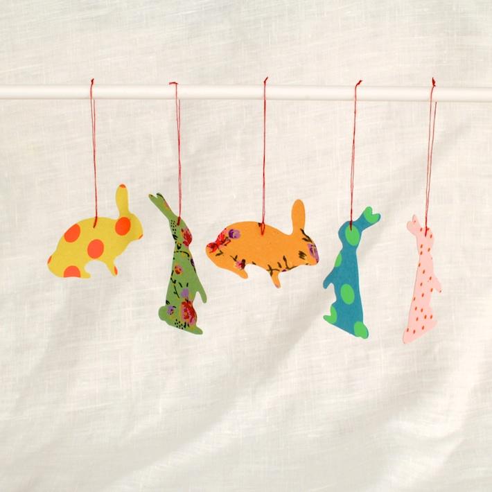 bunny gift tags