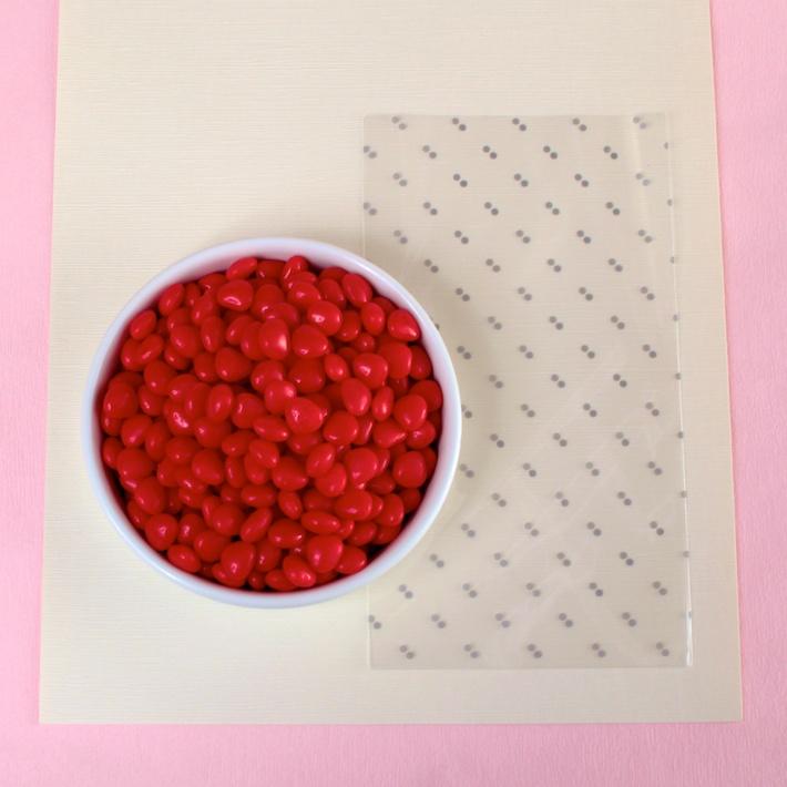 DIY peekaboo Matchbook Valentine (Materials) | CorinnaWraps.com