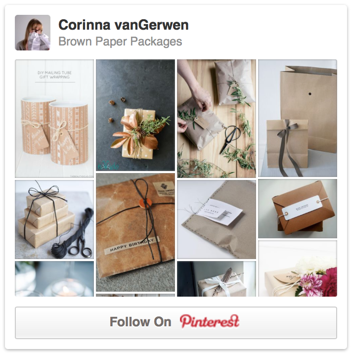 Brown Paper Packages | Corinna vanGerwen on Pinterest