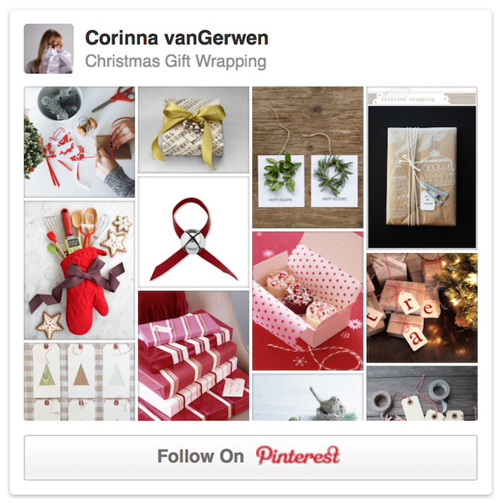 Christmas Gift Wrapping | Corinna vanGerwen on Pinterest