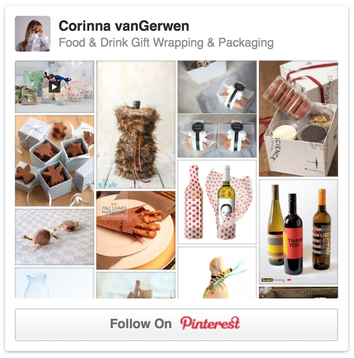 Food & Drink Gift Wrapping & Packaging | Corinna vanGerwen on Pinterest