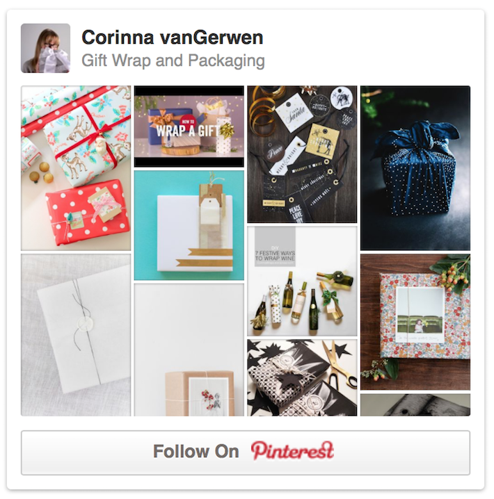 Gift Wrapping & Packaging | Corinna vanGerwen on Pinterest