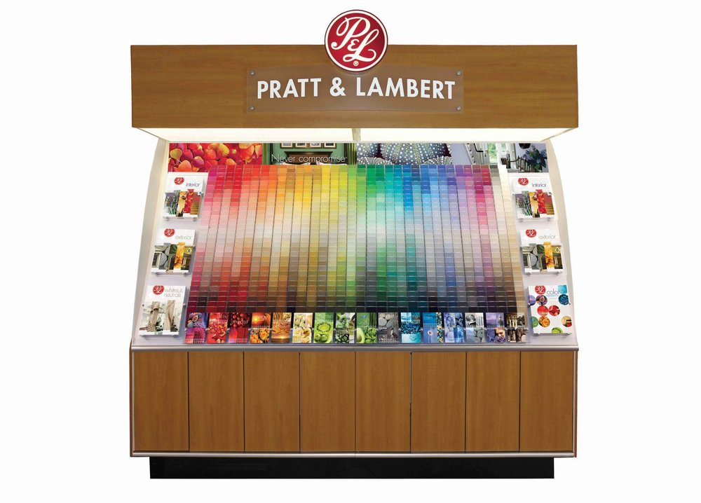 Pratt & Lambert Paint Color System