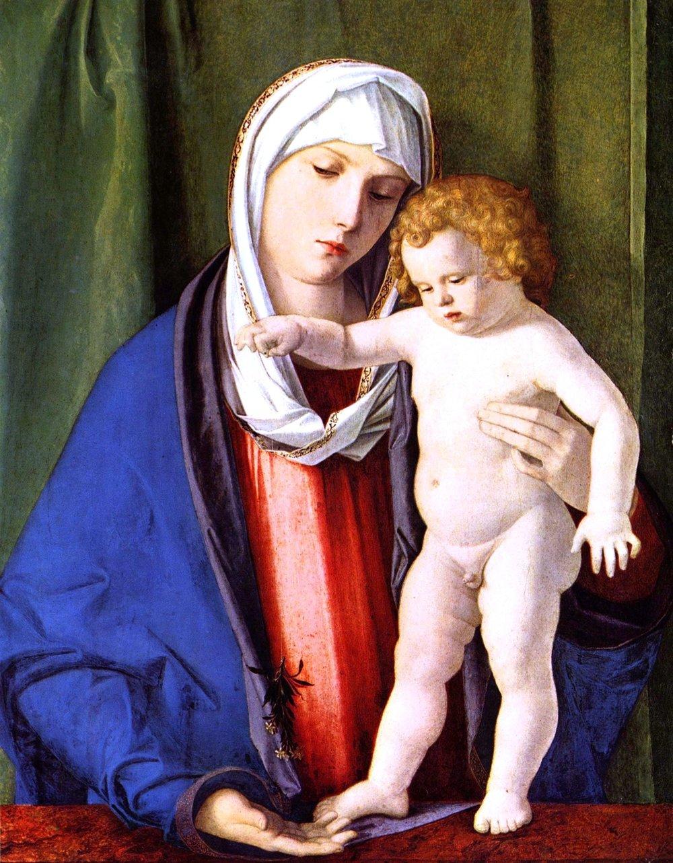 Giovanni Bellini, Madonna col Bambino, circa 1480
