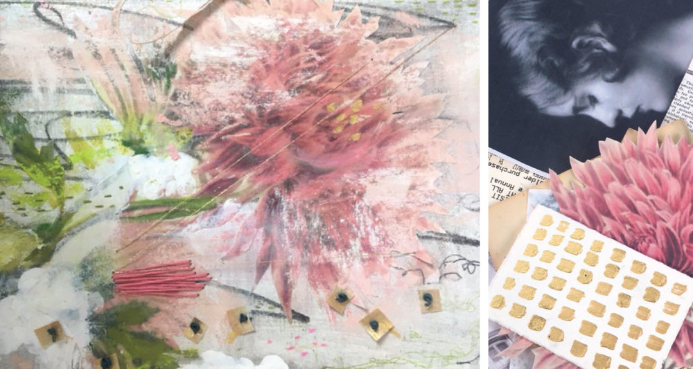 gather what inspires you and keep it in your art journal