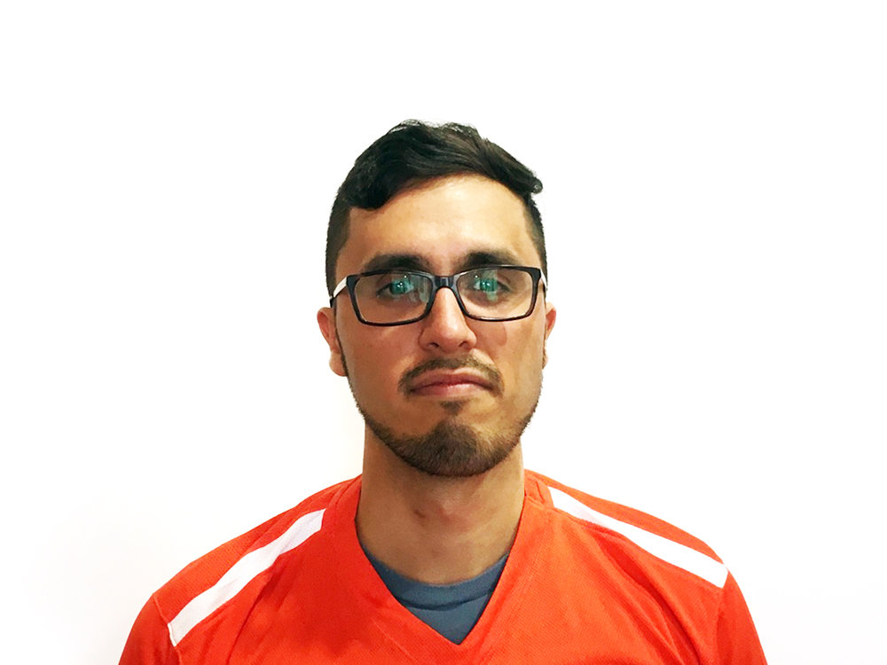 Name: ROOZBEH KHAVANIN Position: Mid Played Since: 2013