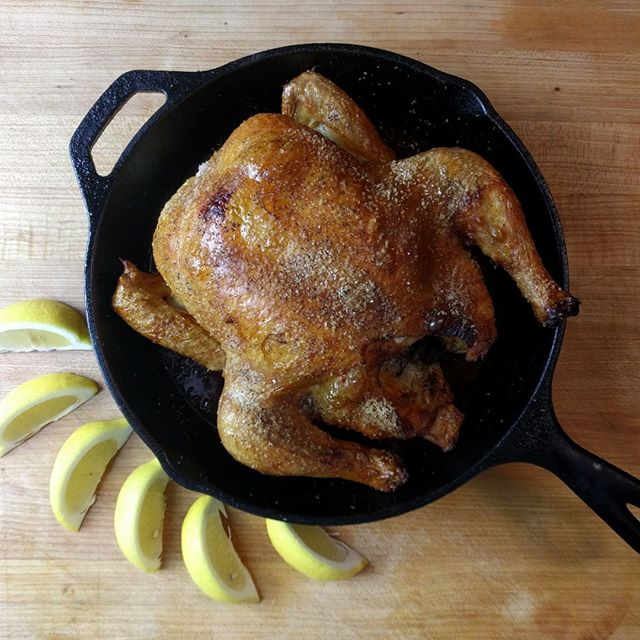 Idiot proof roast chicken. Just leave it alone! https://www.badinfluencekitchen.com/blog/2018/3/11/idiots-roast-chicken #chicken #itswhatsfordinner