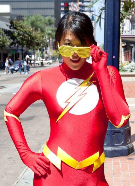 female flash