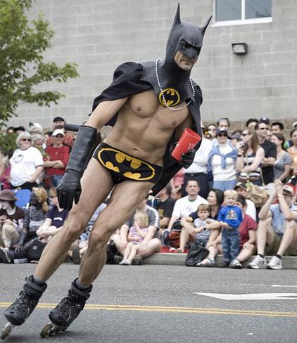 half-naked-batman-rollerblading