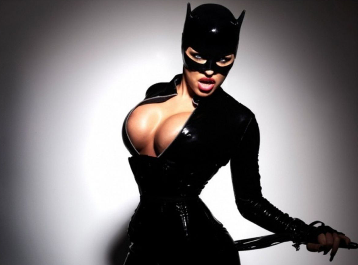 Sexy Catwoman Clevage Cosplay 10.5.14