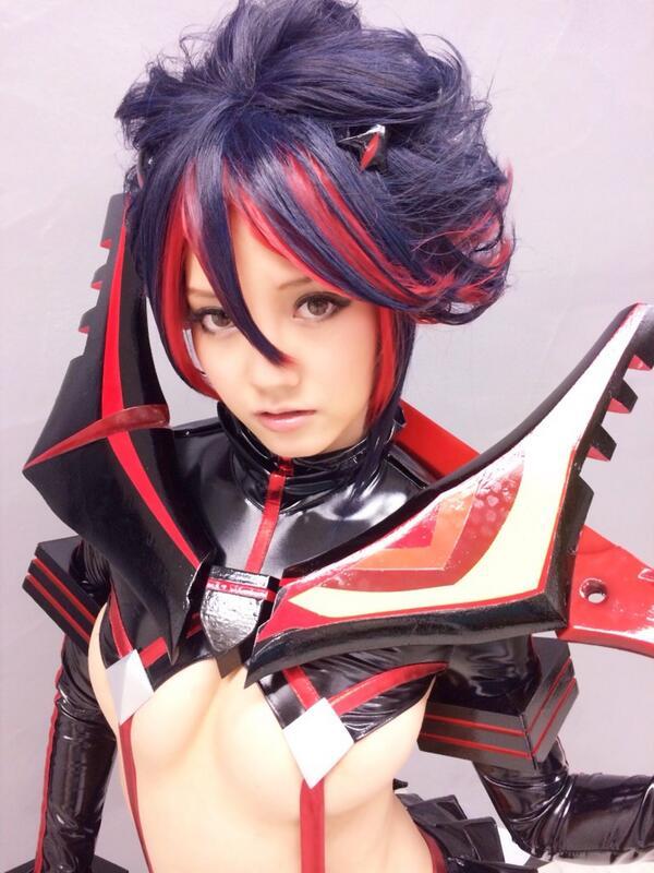 Kill La Kill Matoi Ryuuko Cosplay Mizuna Rei