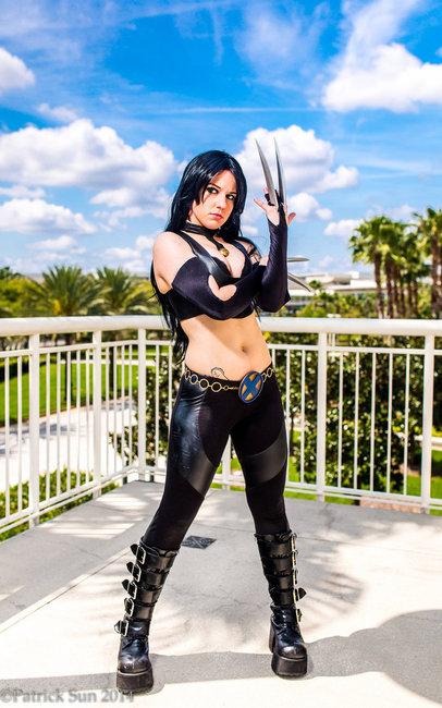 X 23 cosplay costume