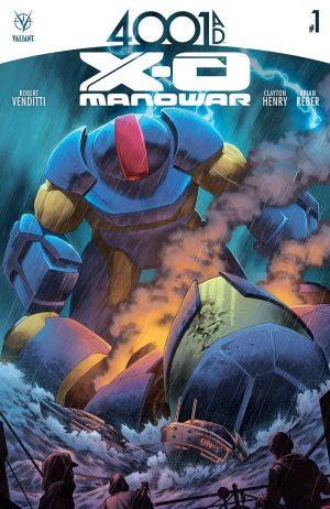 40001 AD X-O Manowar #1