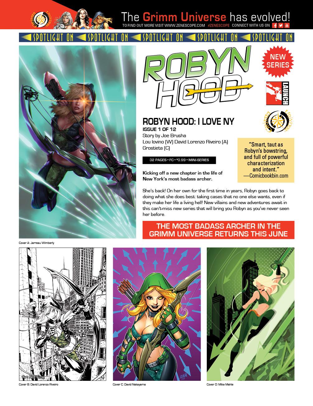 Robyn Hood Annual