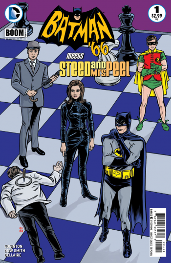 Batman-66-Meets-Steed-and-Mrs-Peel-#1