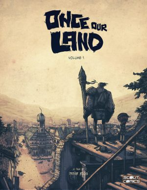 ONCE OUR LAND issue 1 cover