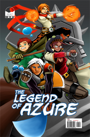 Legend Of Azure#1 Legacy-1