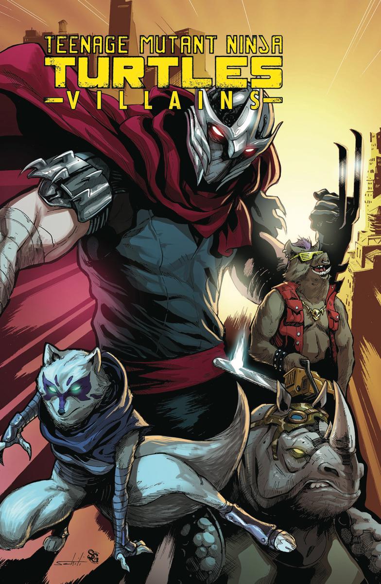 review teenage mutant ninja turtles villains comic bastards