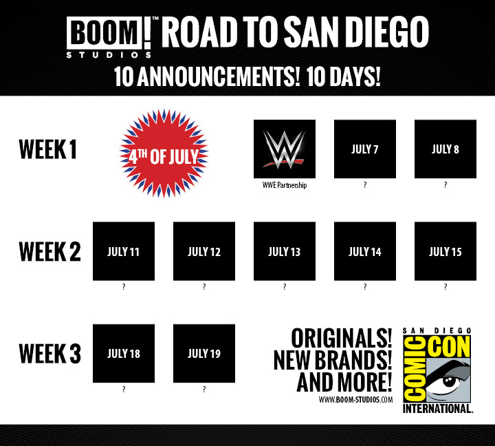 Boom Day 1 2016 SDCC