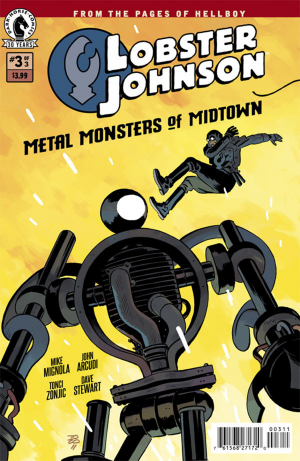 Lobster Johnson MMoM 3