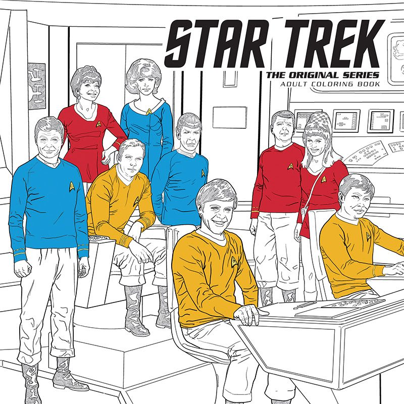 Star Trek Coloring Book