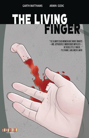 The Living Finger_Cover Image