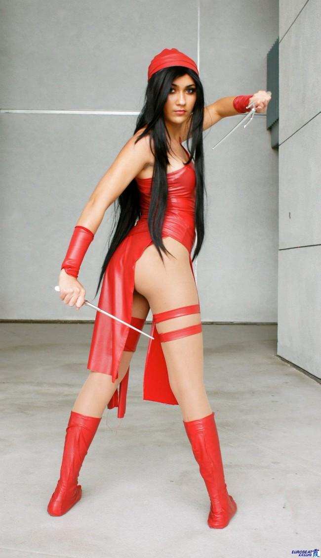 Elektra-Cosplay