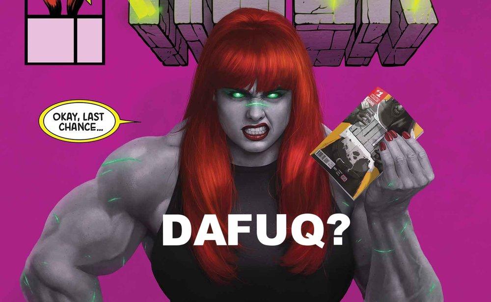 Hulk #7 Mary Jane Cover Marvel - 2017