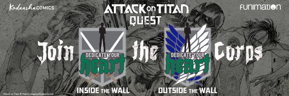 Attack On Titan Quest At Anime Expo 2017 Comic Bastards