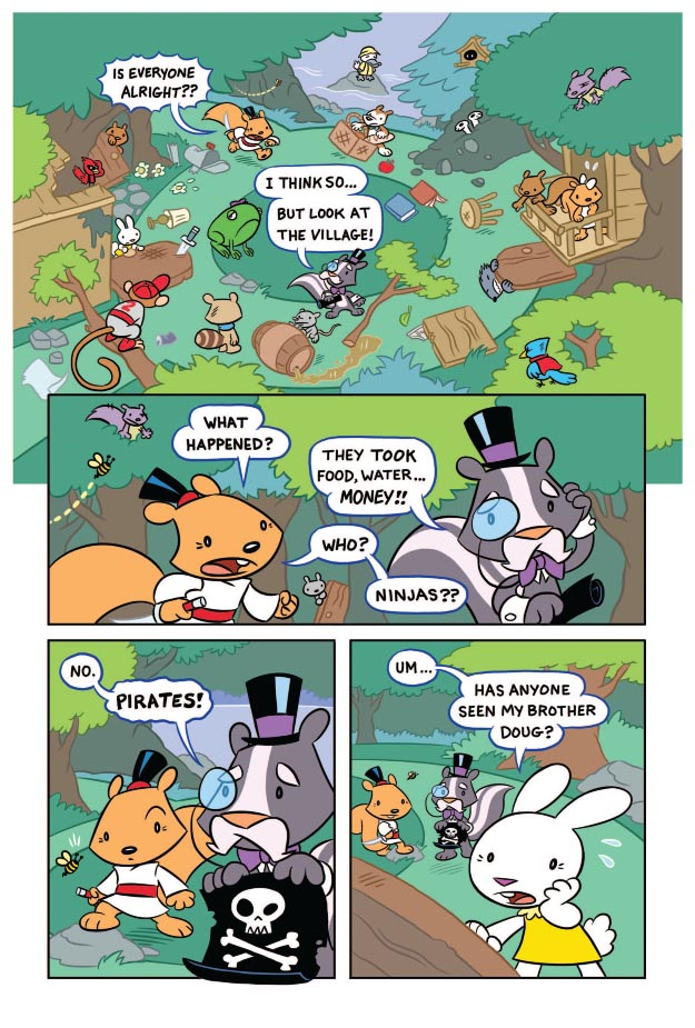 Sami the Samurai Squirrel Welcome to Woodbriar Page 4.jpg