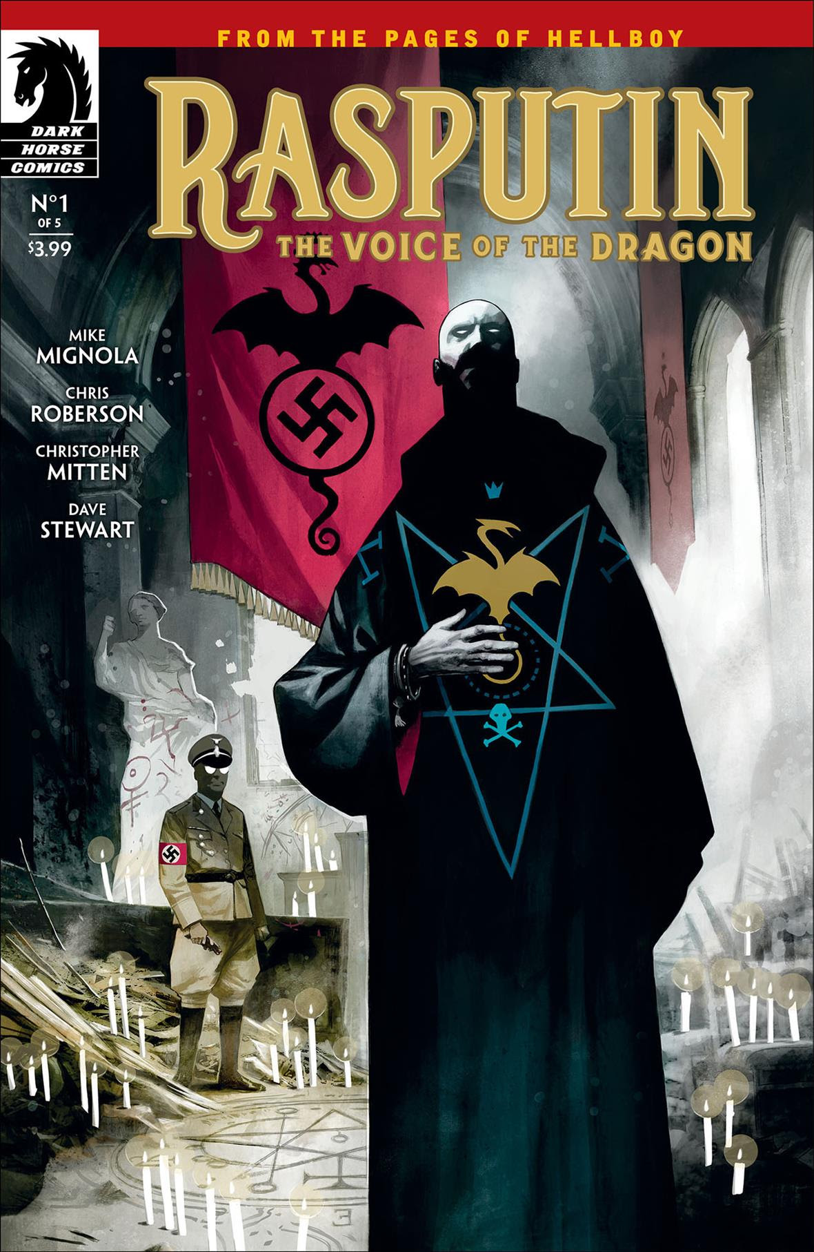 Dark Horse Comics Previews RASPUTIN: THE VOICE OF THE
