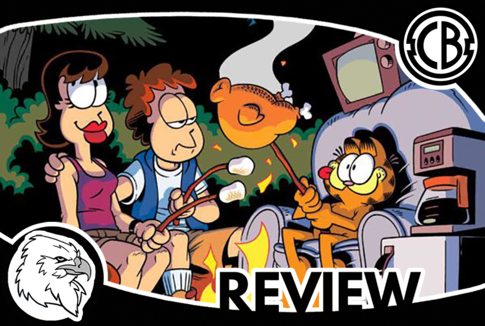 review garfield vacation time blues 1 comic bastards