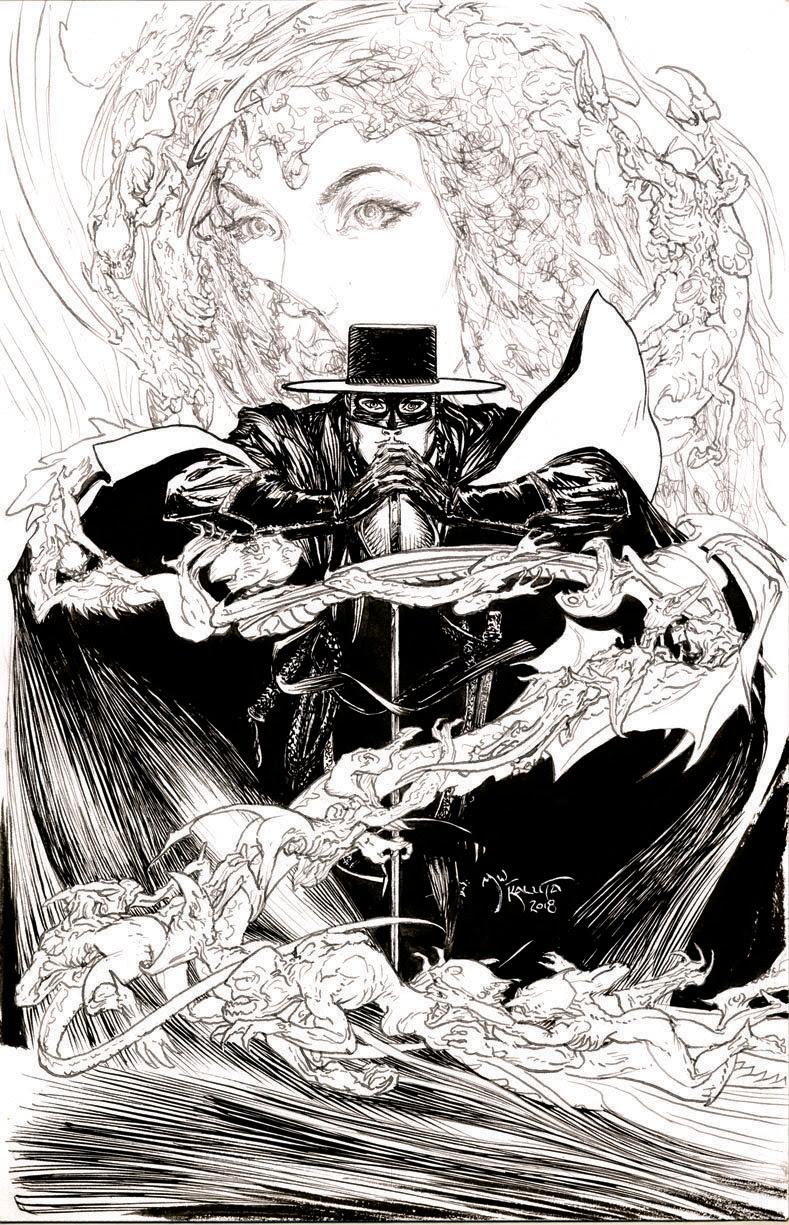 Comic Artist Mike Kaluta Sharpens His Blade For American Mythologys New Zorro Adventures Bastards