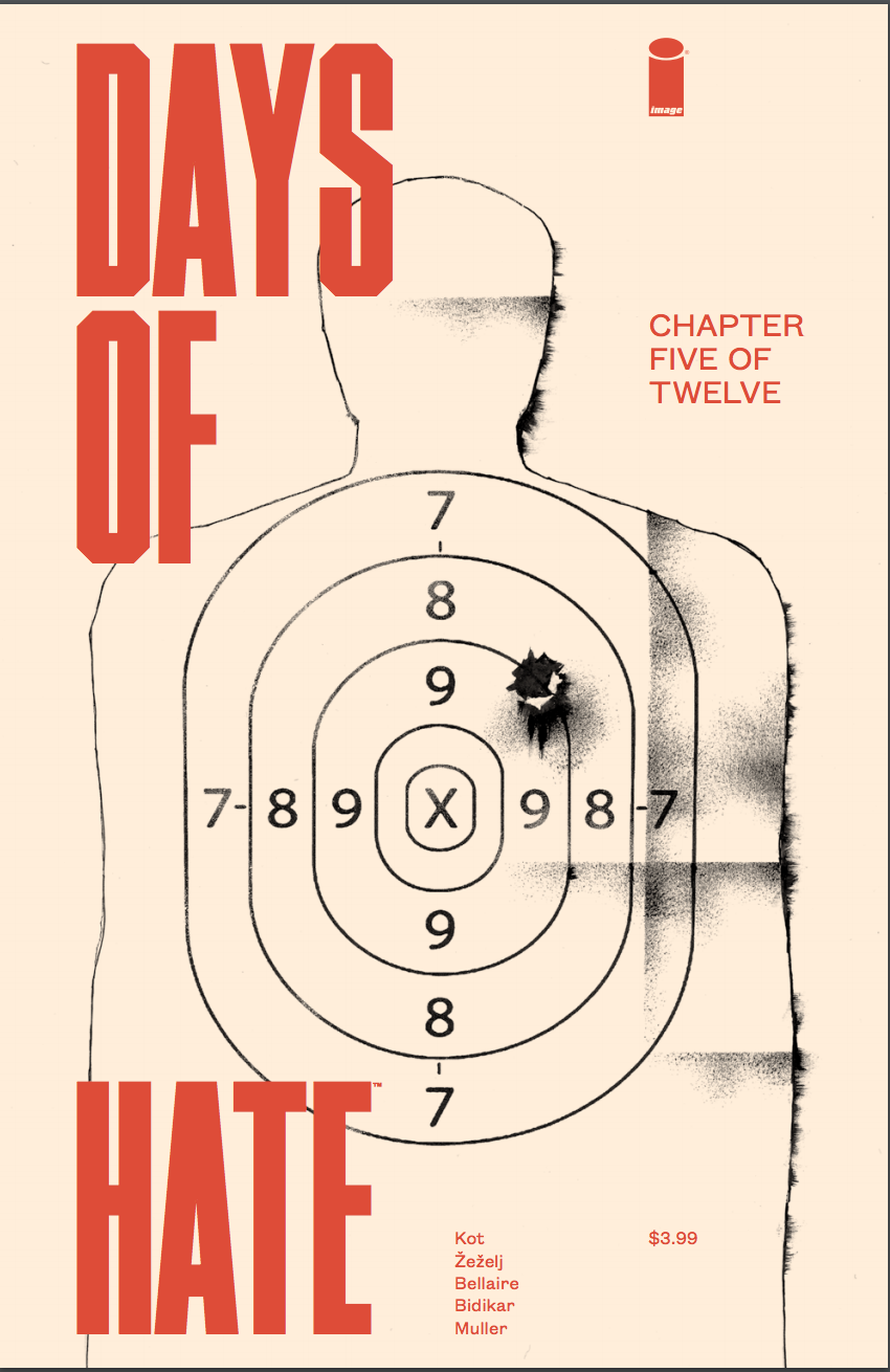 Review Days Of Hate 5 Comic Bastards