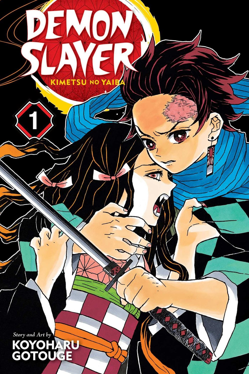 Demon Slayer Kimetsu no Yaiba vol. 1.jpg