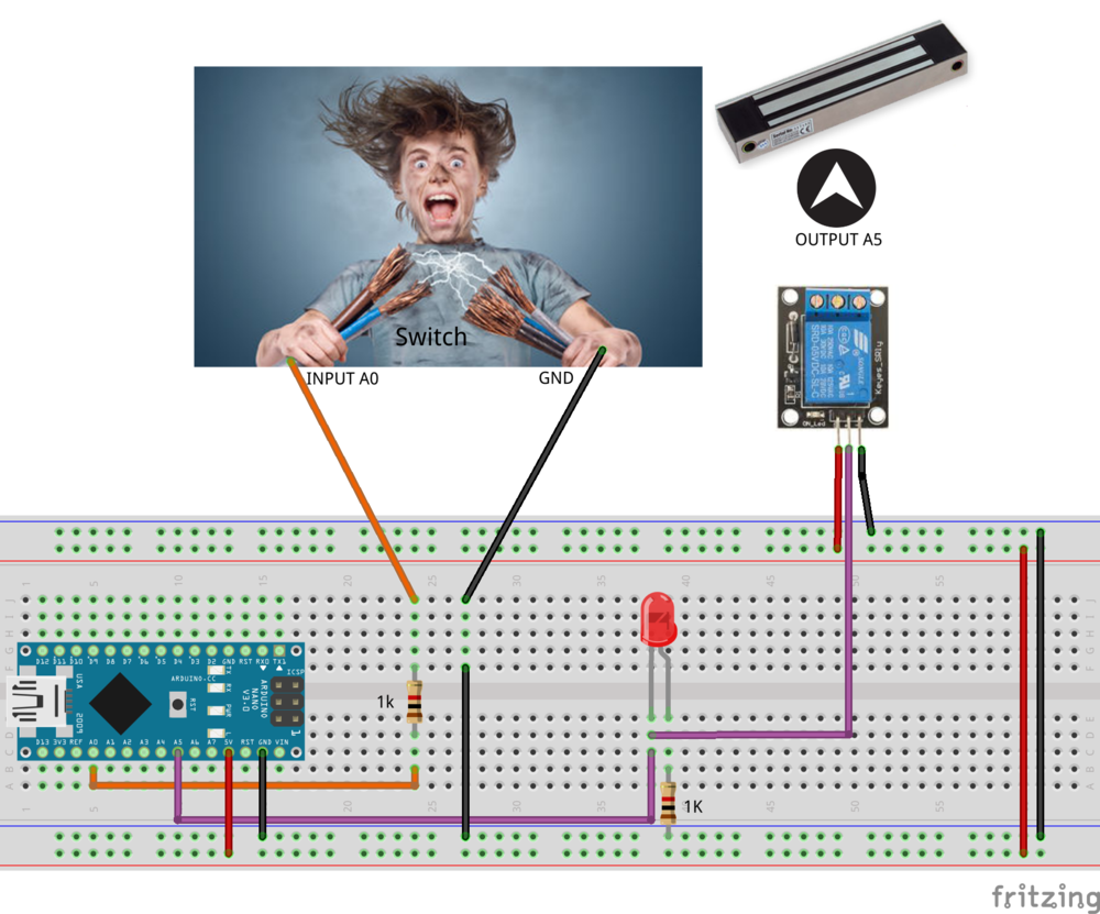 Human Trigger Fatal Mentality Opto Circuit For Arduino Reference The Image Below Proper Connections