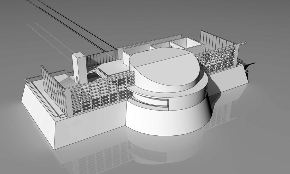 Exploded Perspective View of the Study Model