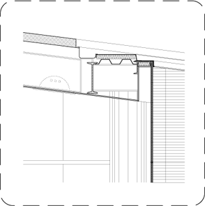 Curtain Wall Construction Detail