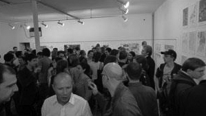 The Opening of the Exhibition with Lavender Island featured project.