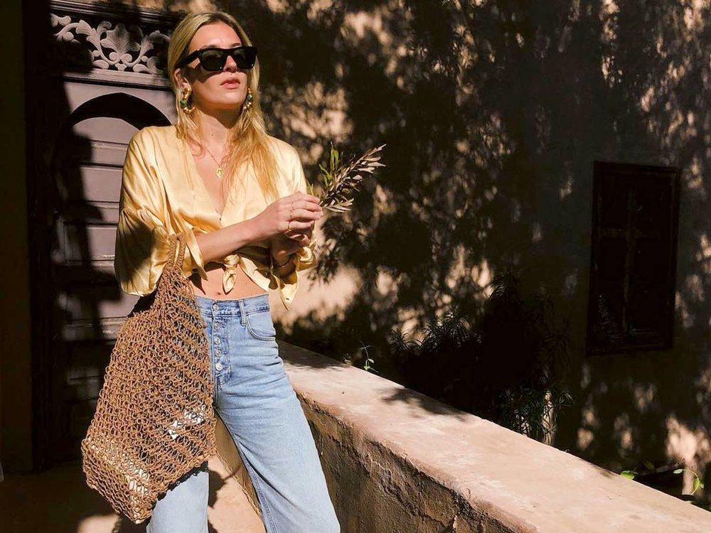The Denim trend both french and american girls love
