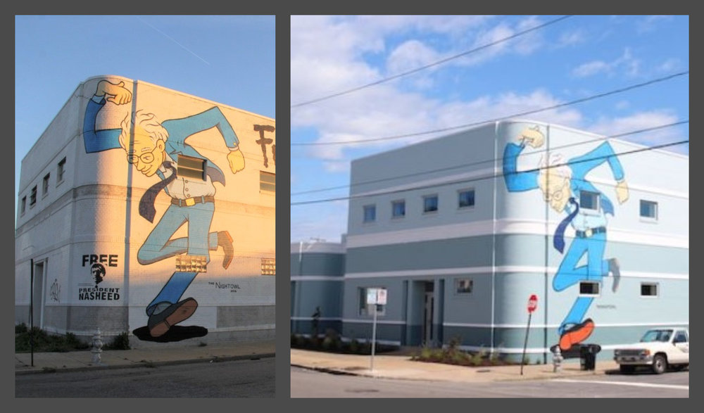 Before & After  3300 W. Broad St, Richmond Virginia