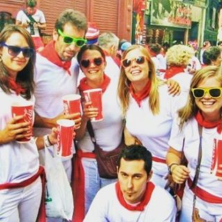 Sangria and Bulls..... what could go wrong?  #sangria #runningofthebulls #runningwiththebulls #party #inspiration #adventures #seetheworld #justdoit #crazytimes