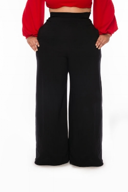 Featured:  Christian Omeshun Wide Leg Pants