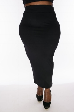 Featured:  Christian Omeshun Pencil Skirt