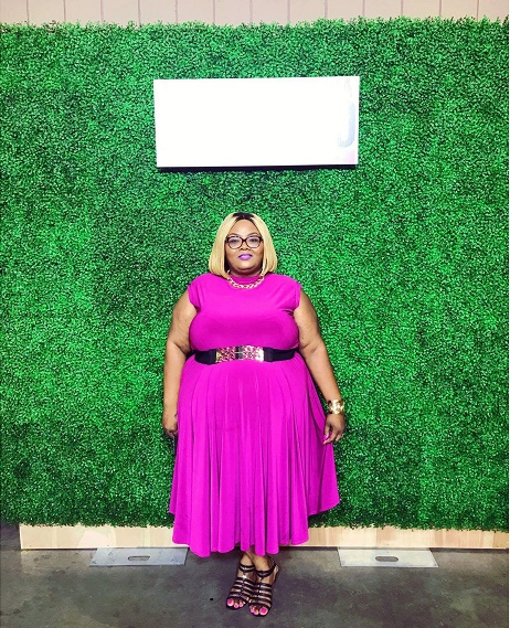 Maui of  Phat Girl Fresh  in our CO  Circle Dress